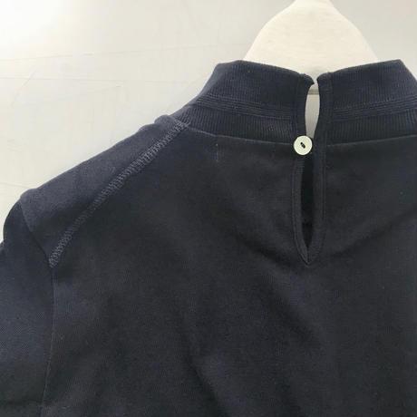 CLO169: mock-neck half sleeve pullover