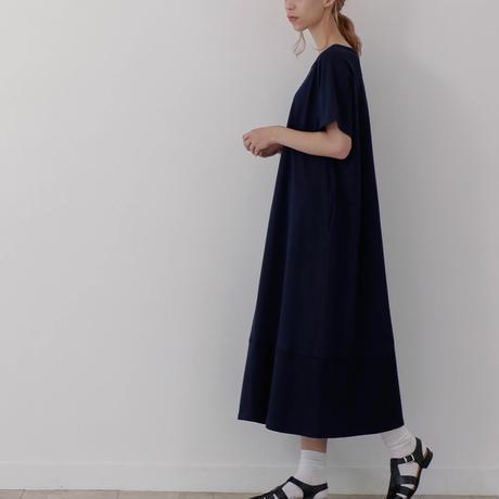 CLO193 : back gathered tee dress
