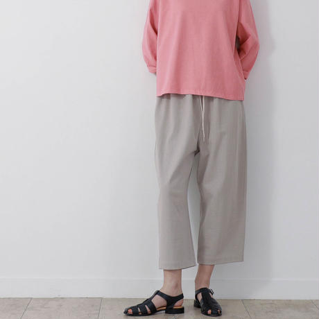 CLO186 : easy tapered pants