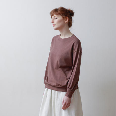CLO211 : puff sleeve pullover