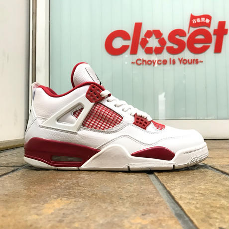 "NIKE AIR JORDAN 4 RETRO ""GYM RED"" size : US10 (28.0cm) 2015年製 308497-106"