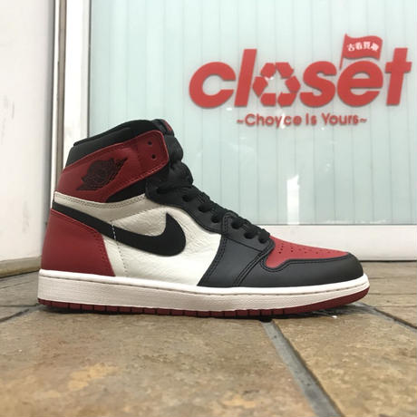 "NIKE / AIR JORDAN 1 RETRO HIGH OG ""BRED TOE"""
