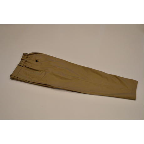 Cotton Coating Typewriter Pegtop Trousers