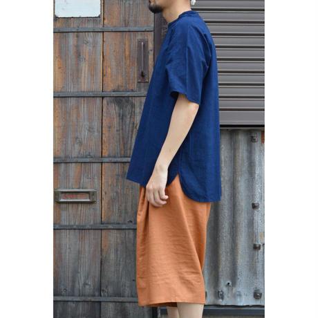 プルオーバー 小 (草木濃染)/ 藍(濃)