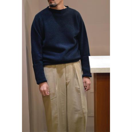 腹巻セーター / 紺緑