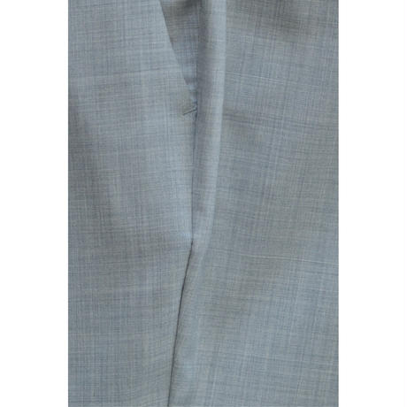 Super 120's Wool Tropical Pegtop Easy Trousers / Light Gray