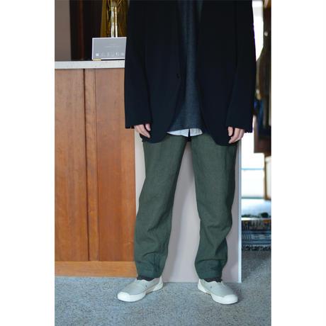 亜麻苧麻ロングパンツ