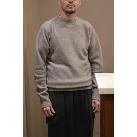 ウールセーター/薄茶