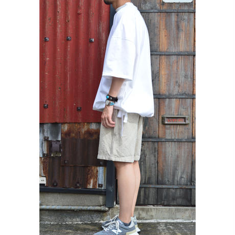 DRAWCORD T-SHIRT / WHITE