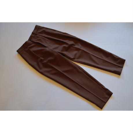 Organic Wool Tropical Pegtop  Trousers