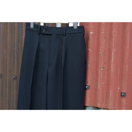 Survival Cloth / New Classic Fit Trousers / BLACK
