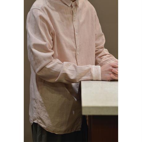 カディシャツ ベンガラ染め (補強)