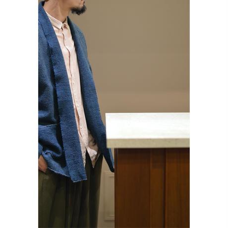 ガラ紡JKT (草木染め)
