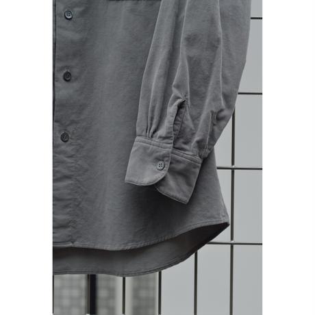 細コーディロイ 製品染シャツ