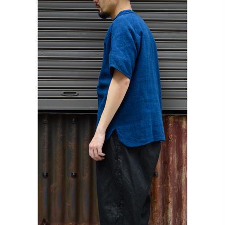 SNチャルカkalaコットンプルオーバー 小(草木染)/藍x胡桃