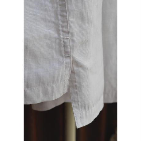 オーバーサイズ6分袖シャツ/ リヨセル・カールマイヤー / OffWhite