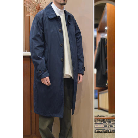 田口さんのステンカラーコート