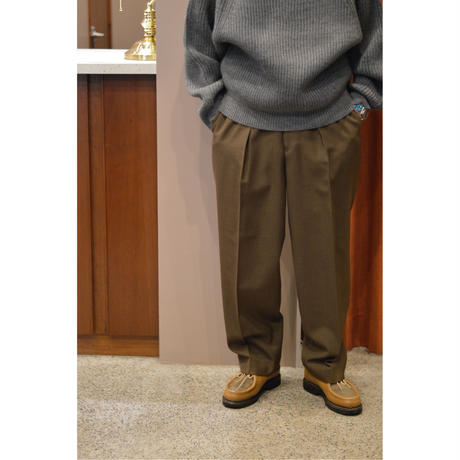 Survival Cloth / New Classic Fit Trousers /KHAKI