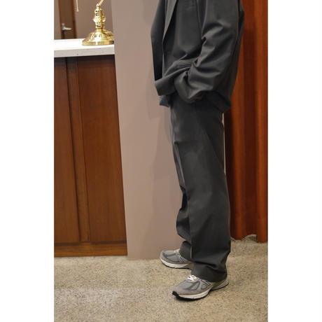 Cupro Gaberdine  / Straight Fit Trousers