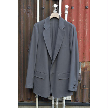 Cupro Gaberdine  /  Single Jacket