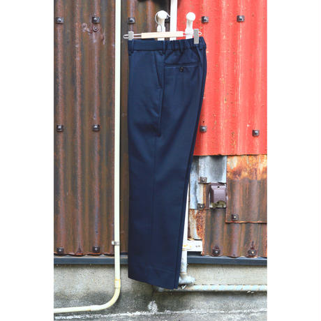 SurvivalCloth / Straight Fit Trousers  / Dark Navy