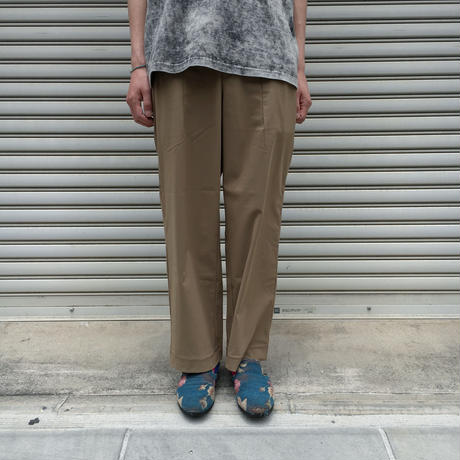 ADVANCE WIDE TROUSERS 【 CURLY 】