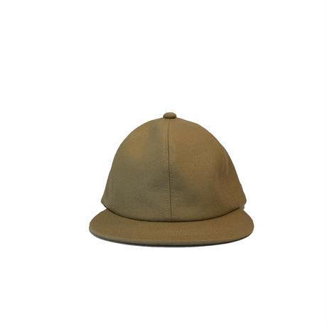 Wool Melton 6P Cap <CAM/SIL> 【bocodeco】【凹凸】