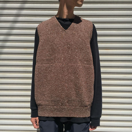 WHOLE GARMENT KNIT VEST 【 CREPUSCULE 】