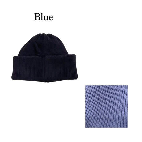 KNIT CAP <blue> 【Crepuscule】