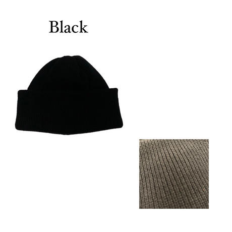 KNIT CAP <black> 【Crepuscule】