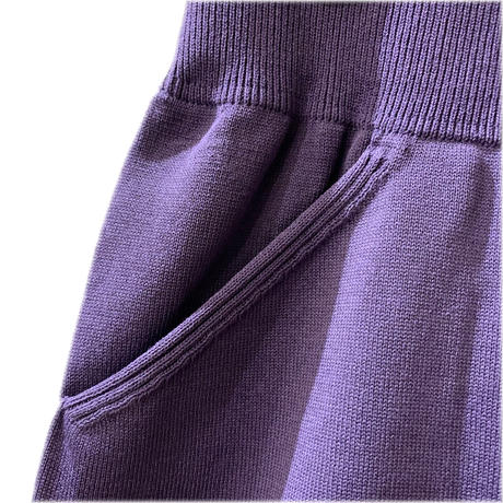 SHORT PANTS <purple> 【crepuscule】