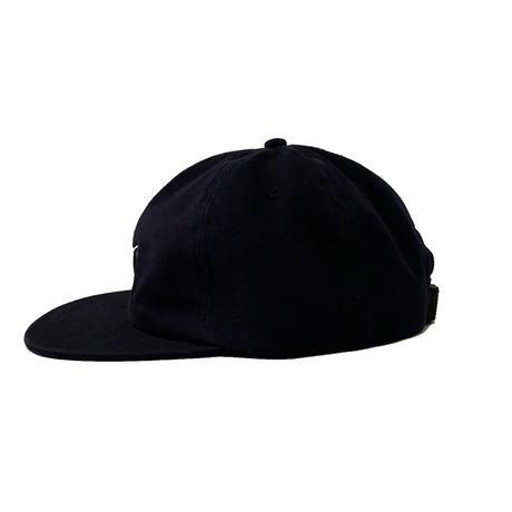 CHERISE 6-PANEL CAP <black>【TIRED】