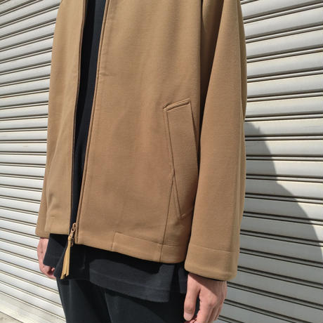 CRUST SHORT BLOUSON 【 CURLY 】