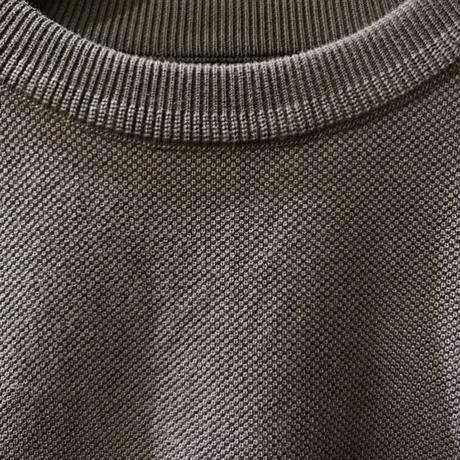 MOSS STITCH S/S <C,Gray>【crepuscule】