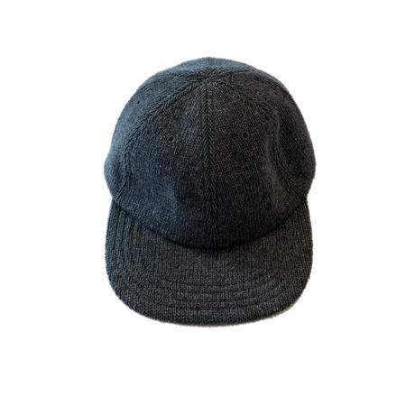 RECYCLE W/PL 6PANEL KNIT CAP <d,gray>【Rototo】