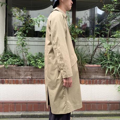 LONG MAC COAT <beige> 【Neccesary or Unnecessary】