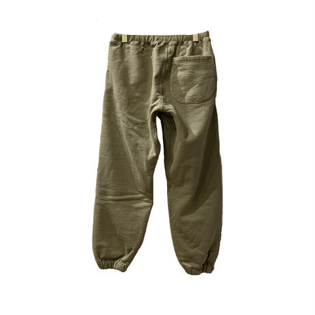 THE SWEAT PANTS <olive> 【THE UNION】【THE FABRIC】