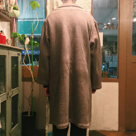 w-face knit gown coat【THEE】