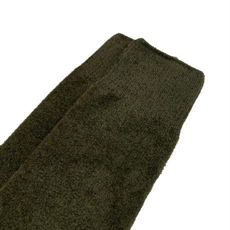 VERY VELOUR SOCKS <d,green/navy> 【Rototo】
