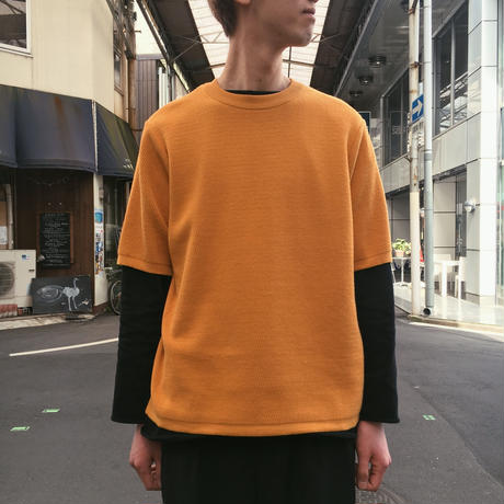 COTTON THERMAL S/S KNIT 【 ROTOTO 】