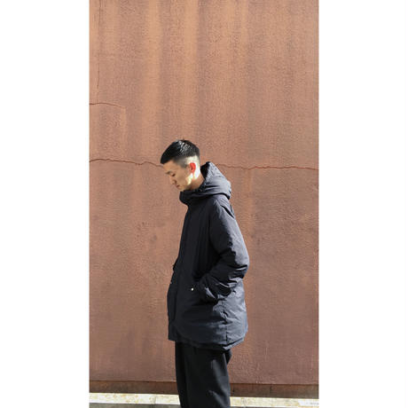 HOODED DOWN COAT 150 【 HAVE A GOOD DAY 】