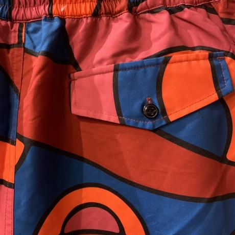 Serpent pattern swim shorts 【by parra】