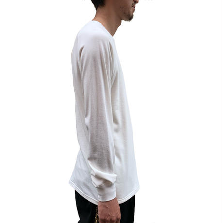 F/W FACE ''FLEECE'' L/S SWEAT T-SHIRT 【着もちいい服】