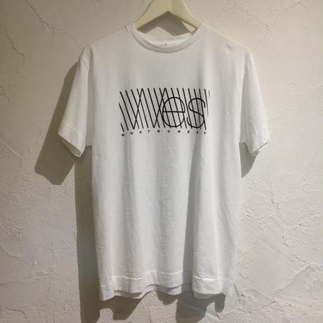 WES TEE 【 NECESSARYORUNNECESSARY 】