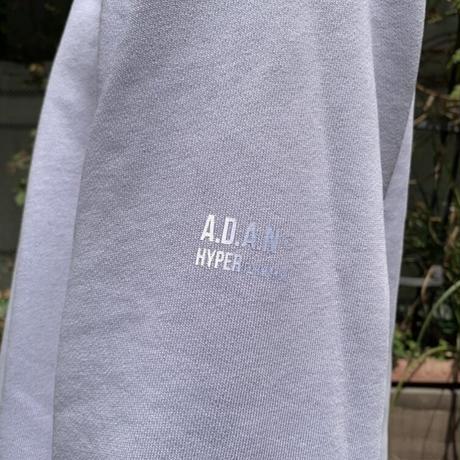 ADAN SWEAT CREW <purple> 【A.D.A.N】