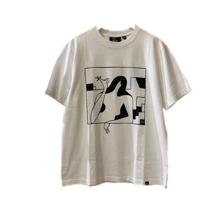 lockdown t-shirt 【by parra】