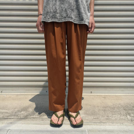 HIGH RISE WIDE TROUSERS 【 THEE 】