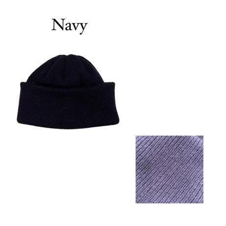 KNIT CAP <navy> 【Crepuscule】