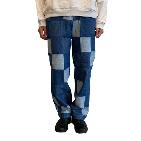 GOOD FIT TROUSERS DENIM【WESTOVERALLS】