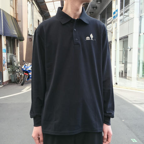 HORIZON L/S POLO 【 CHARI & CO 】
